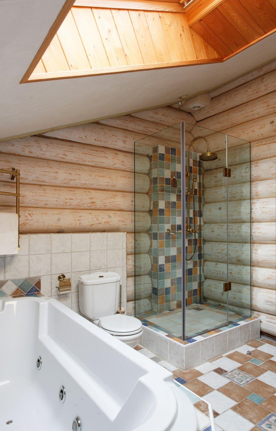 Фотография: Ванная в стиле Прованс и Кантри, Дом, Дома и квартиры, Проект недели, Дача – фото на INMYROOM