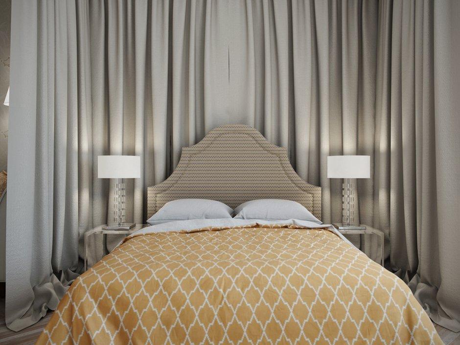 Фотография: Спальня в стиле Прованс и Кантри, Современный, Квартира, Проект недели – фото на INMYROOM