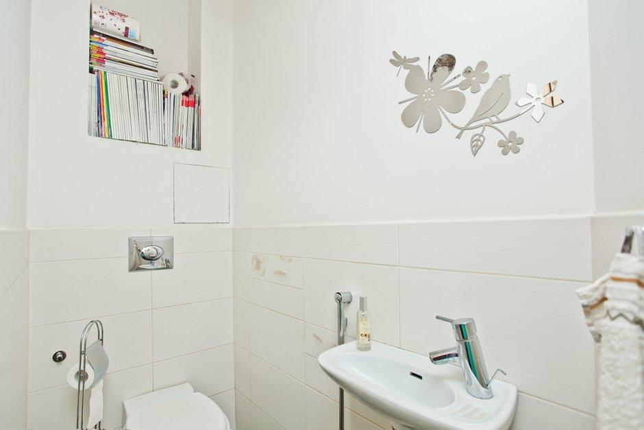 Фотография: Ванная в стиле , Квартира, Дома и квартиры, Перепланировка – фото на INMYROOM