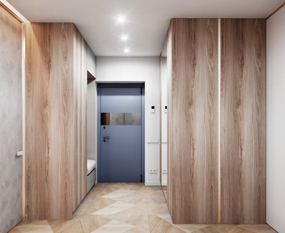 Фотография: Прихожая в стиле Современный, Квартира, Проект недели, 3 комнаты, Более 90 метров, Люберцы, Александра Гартке – фото на INMYROOM