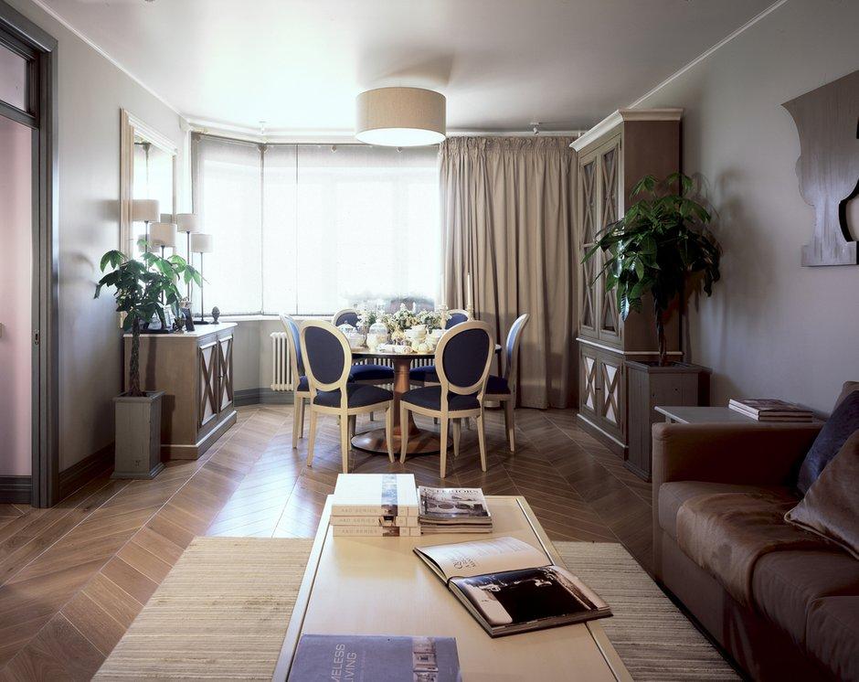 Фотография: Кухня и столовая в стиле Классический, Современный, Квартира, Дома и квартиры, Проект недели, Москва, Неоклассика – фото на INMYROOM