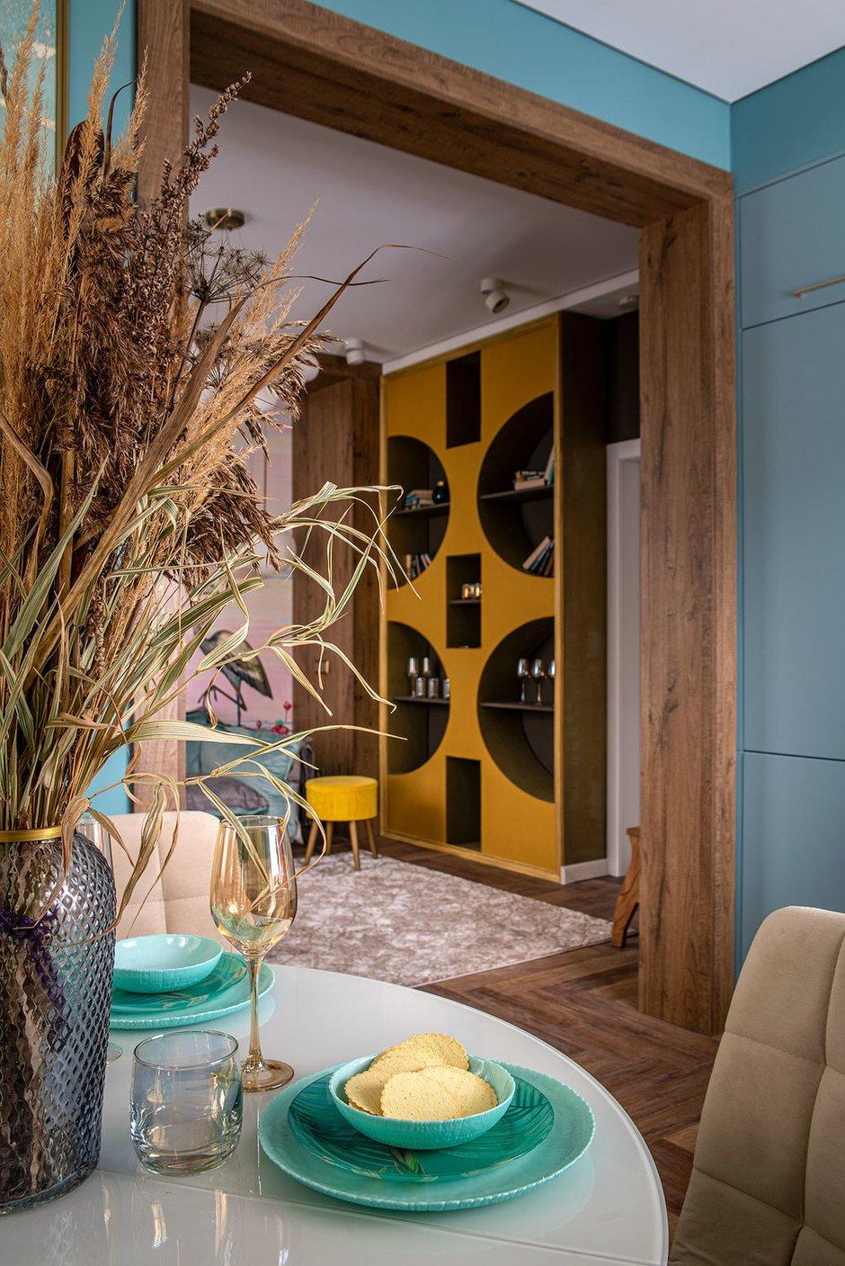Фотография: Гостиная в стиле Современный, Кухня и столовая, Советы, до 40 метров, Надежда Тертышникова – фото на INMYROOM