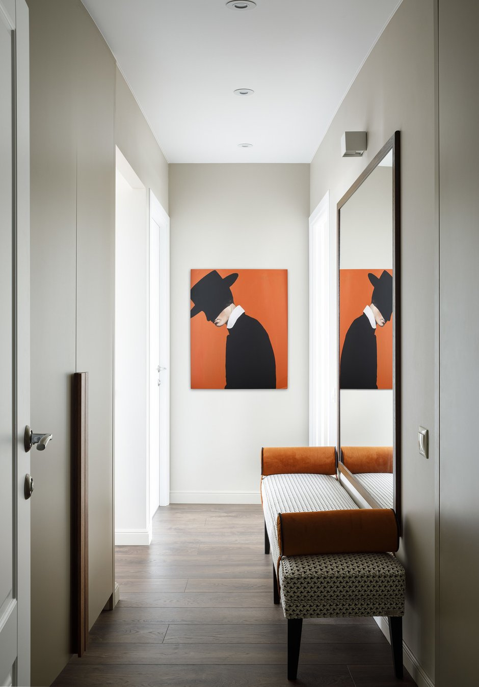 Фотография: Прихожая в стиле Современный, Квартира, Проект недели, Москва, Панельный дом, 2 комнаты, 40-60 метров, Светлана Капустина – фото на INMYROOM