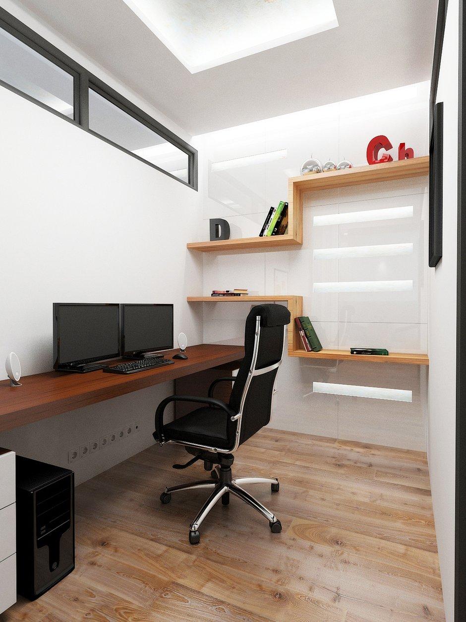 Фотография: Офис в стиле Современный, Декор интерьера, Квартира, Globo, Massive, Дома и квартиры, IKEA, Проект недели, Ideal Lux – фото на INMYROOM