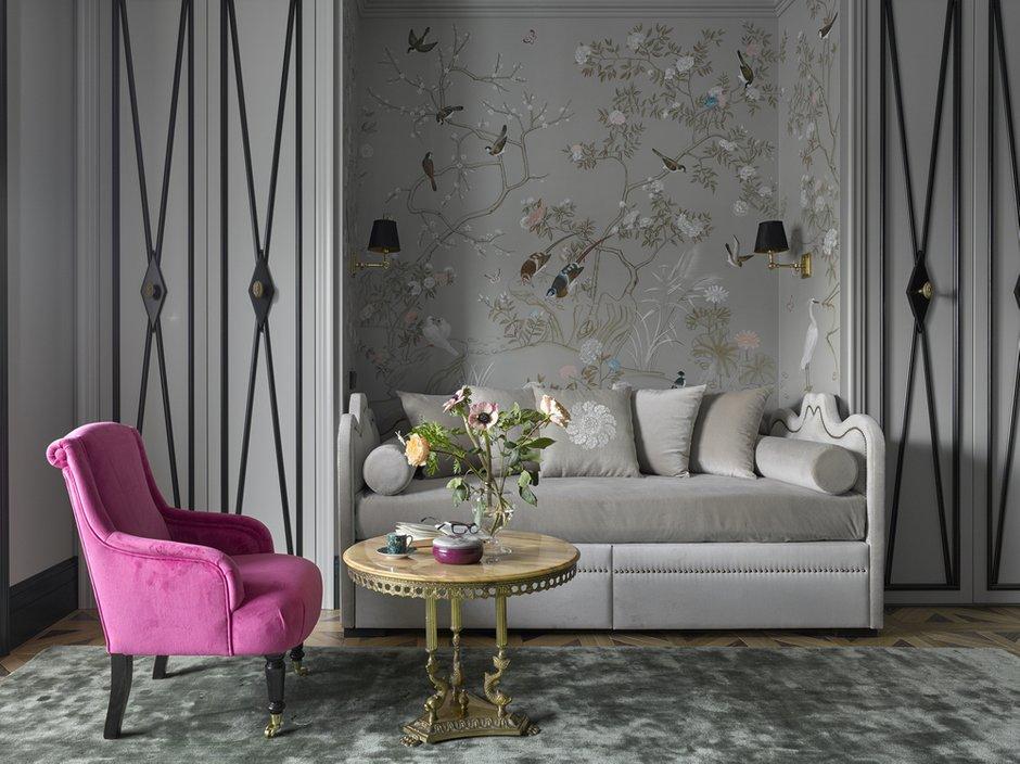 Фотография: Гостиная в стиле Классический, Интервью, блиц-портрет, Катерина Лашманова – фото на INMYROOM