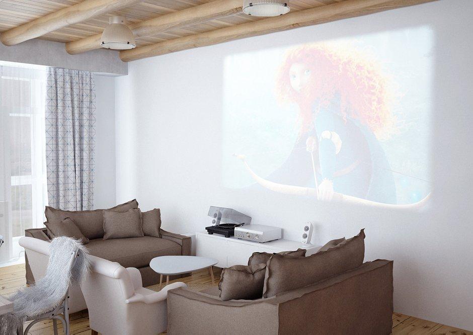 Фотография: Гостиная в стиле Лофт, Скандинавский, Квартира, Дома и квартиры, IKEA, Проект недели – фото на INMYROOM
