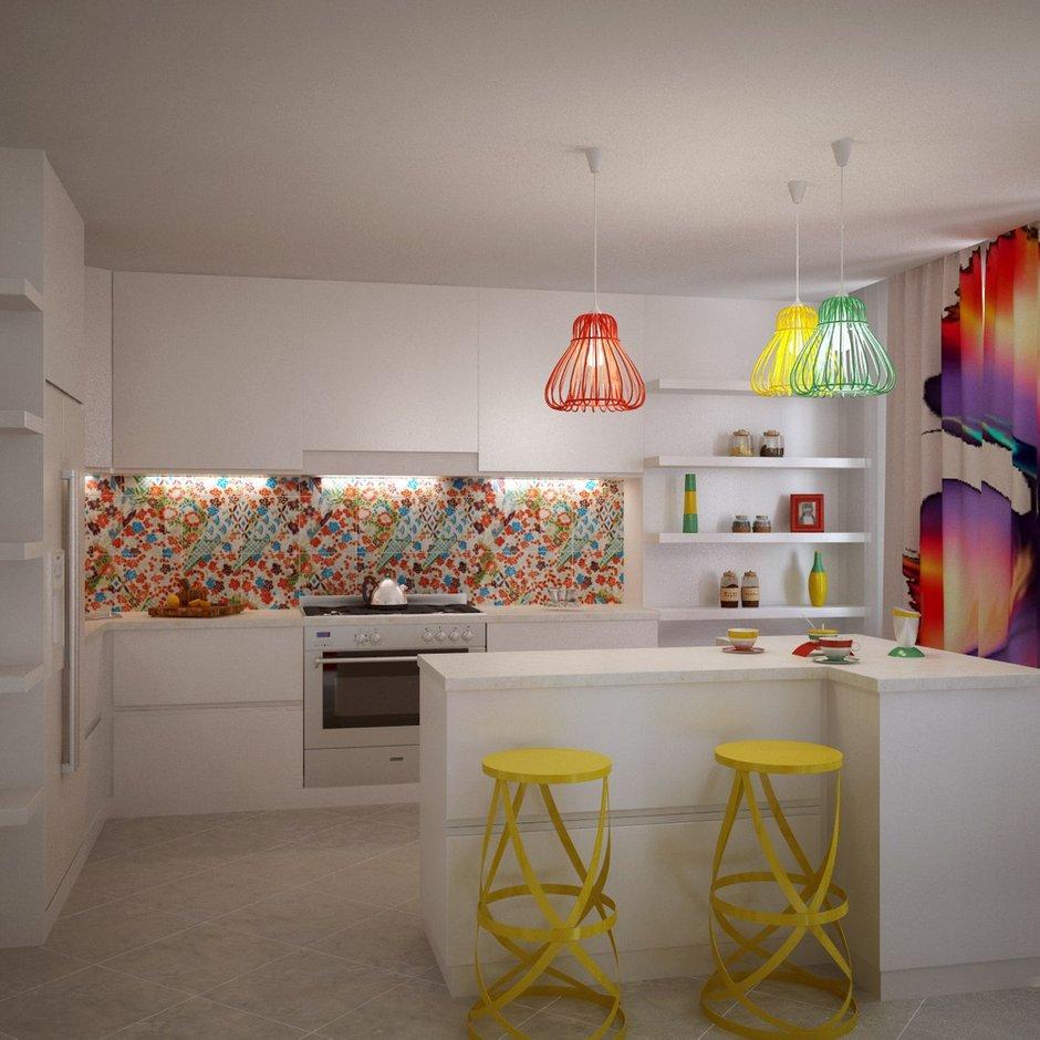 Фотография: Кухня и столовая в стиле Современный, Эклектика, Квартира, Дома и квартиры, Минимализм – фото на INMYROOM