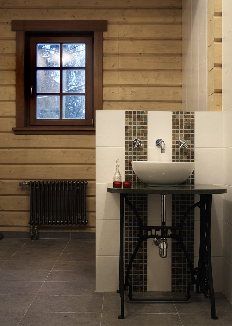 Фотография: Ванная в стиле Прованс и Кантри, Современный, Декор интерьера, Дом, Fabbian, Дома и квартиры, IKEA, Шале – фото на INMYROOM