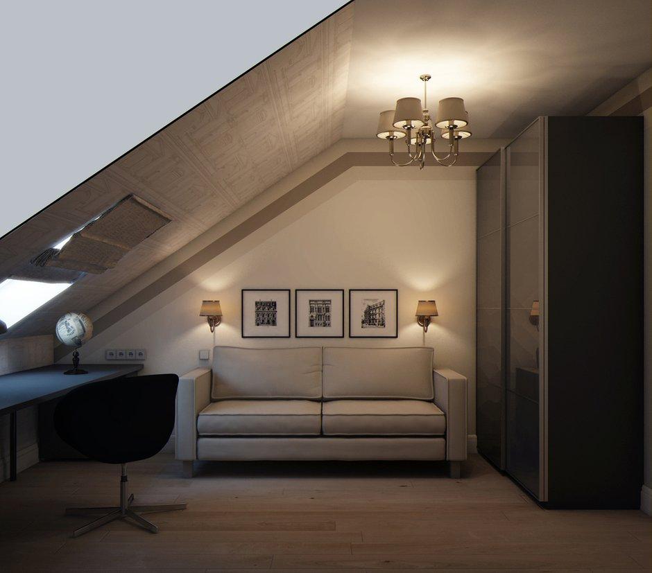 Фотография: Кабинет в стиле Классический, Эклектика, Квартира, Проект недели, Марина Саркисян, Подмосковье – фото на INMYROOM