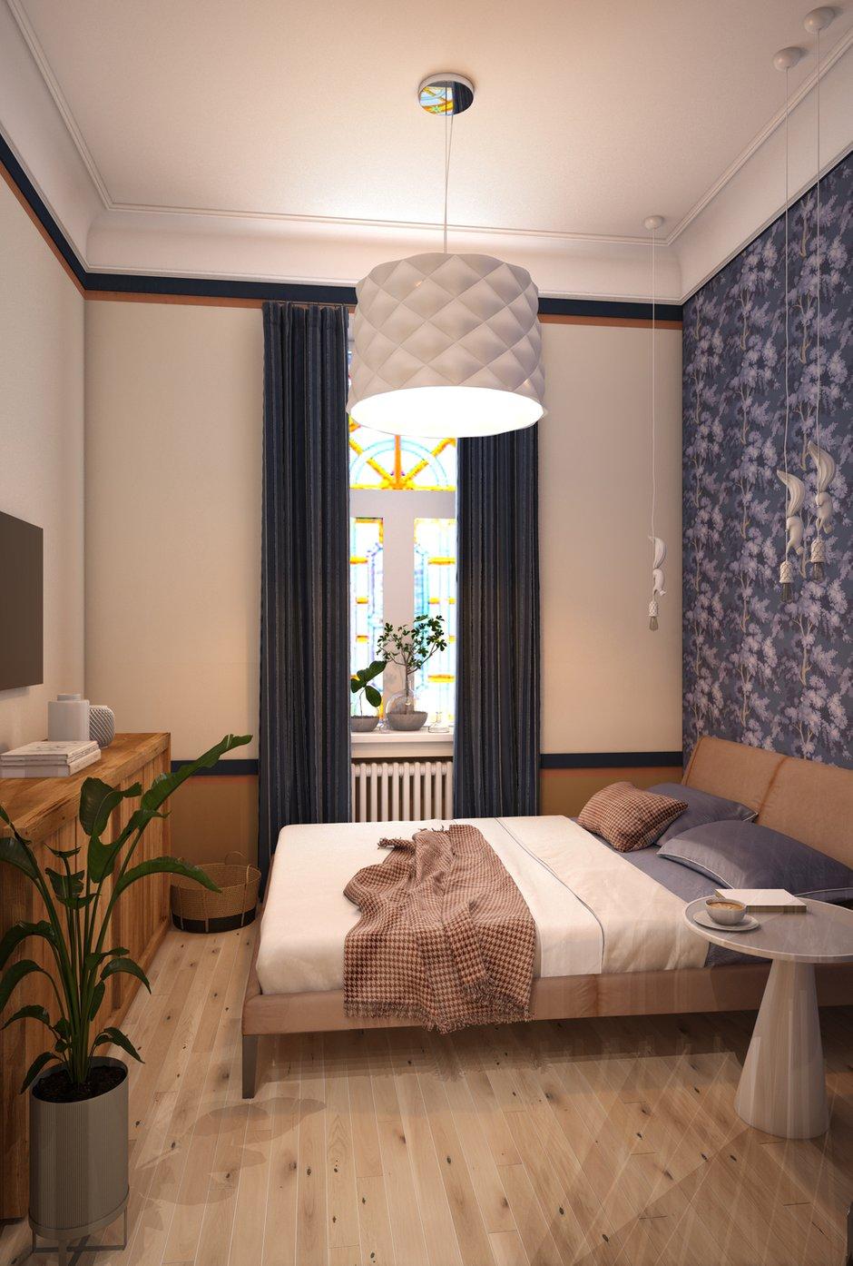 Фотография: Спальня в стиле Современный, Эко, Скандинавский, Квартира, Студия, Проект недели, Марина Саркисян, Хельсинки, до 40 метров – фото на INMYROOM