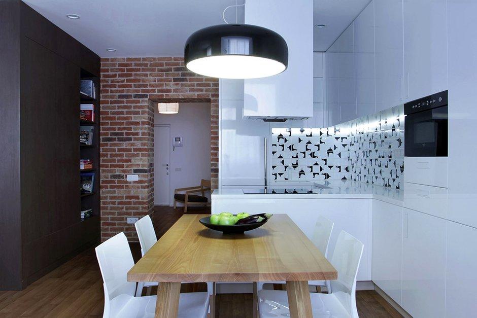 Фотография: Кухня и столовая в стиле Лофт, Современный, Декор интерьера, Квартира, Дома и квартиры, Проект недели – фото на INMYROOM