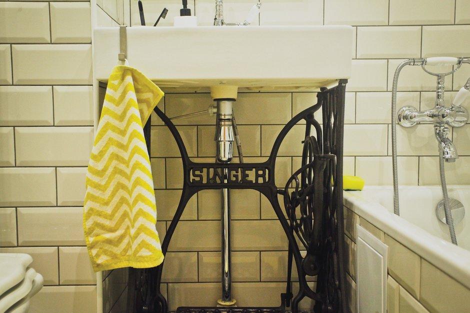 Фотография: Ванная в стиле Скандинавский, DIY, Квартира, Дома и квартиры, IKEA – фото на INMYROOM