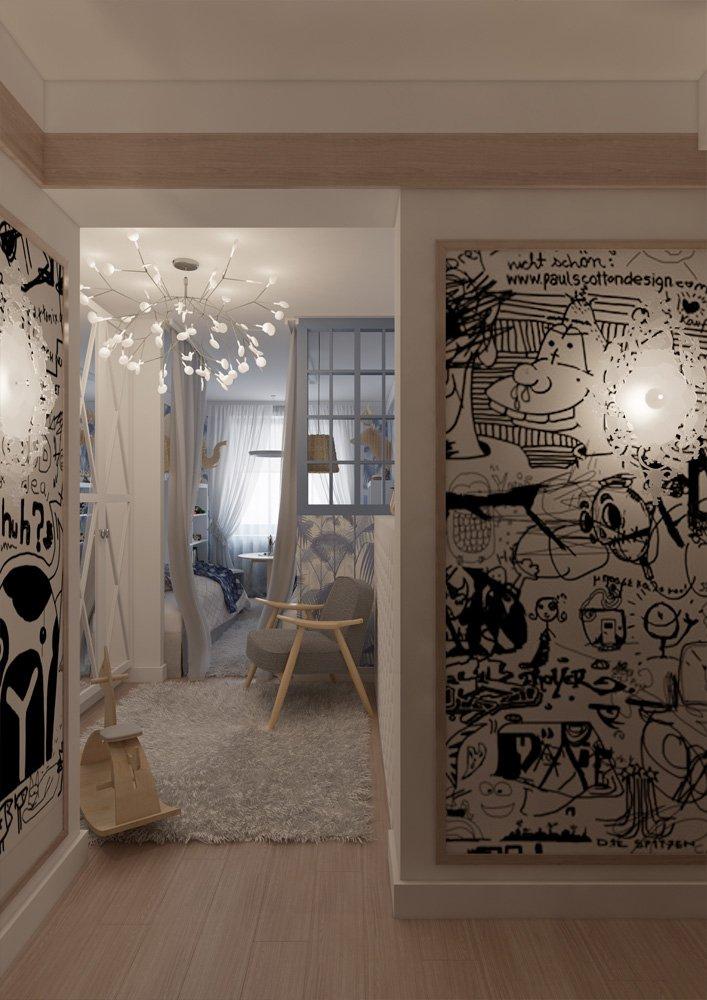 Фотография: Прихожая в стиле Эклектика, Квартира, BoConcept, Дома и квартиры, Проект недели – фото на INMYROOM