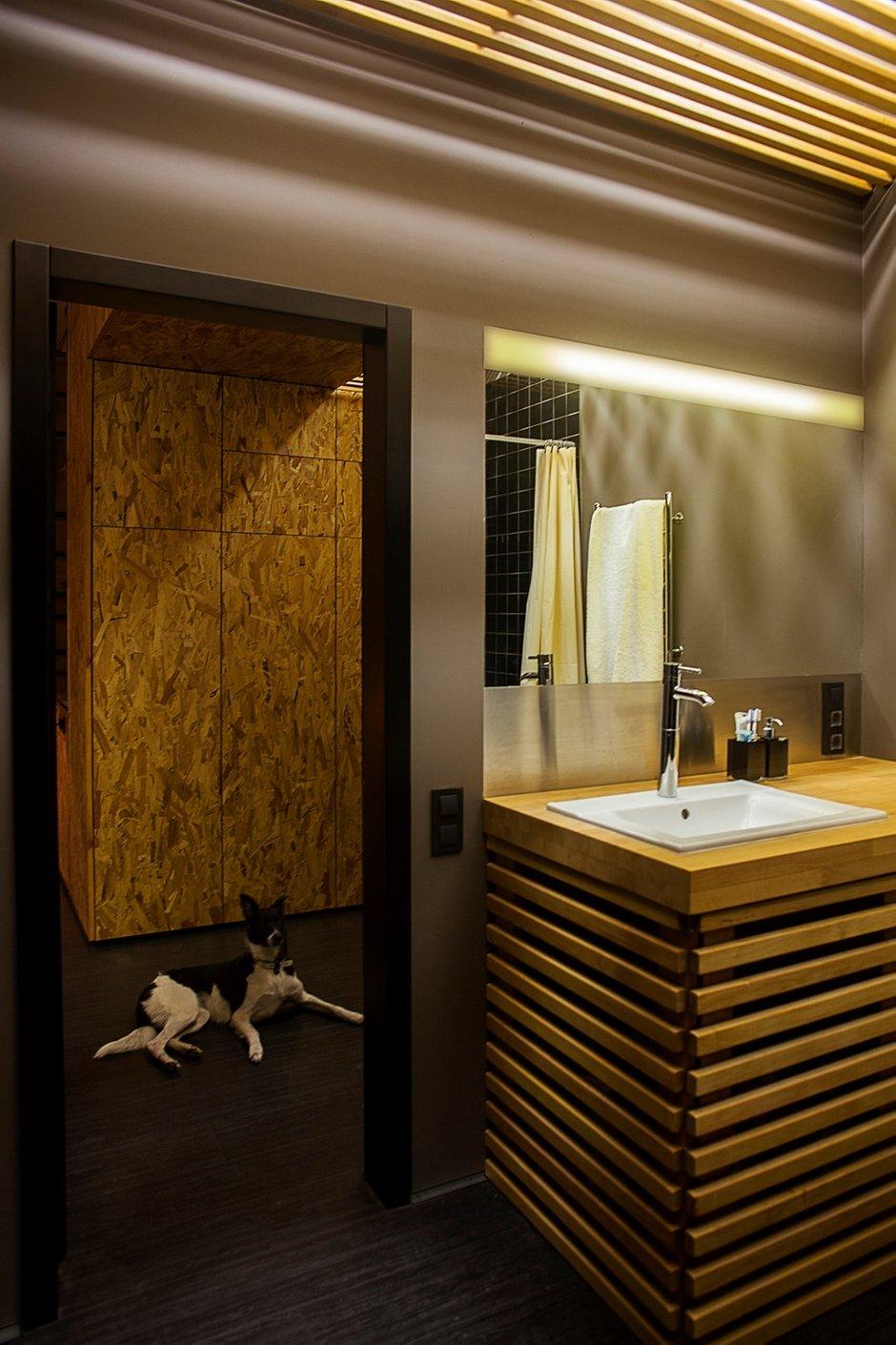 Фотография: Ванная в стиле Современный, Малогабаритная квартира, Квартира, Украина, Vitra, Дома и квартиры, Перепланировка, Библиотека, Киев, Подиум – фото на INMYROOM
