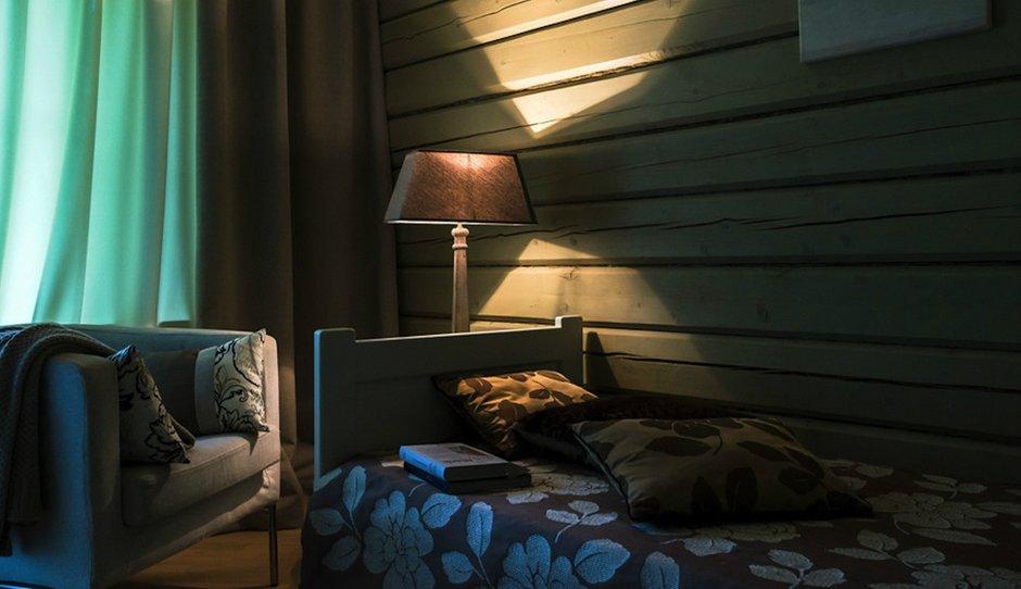 Фотография: Спальня в стиле , Дом, Дома и квартиры, Проект недели, Дача, dom-iz-brusa – фото на INMYROOM