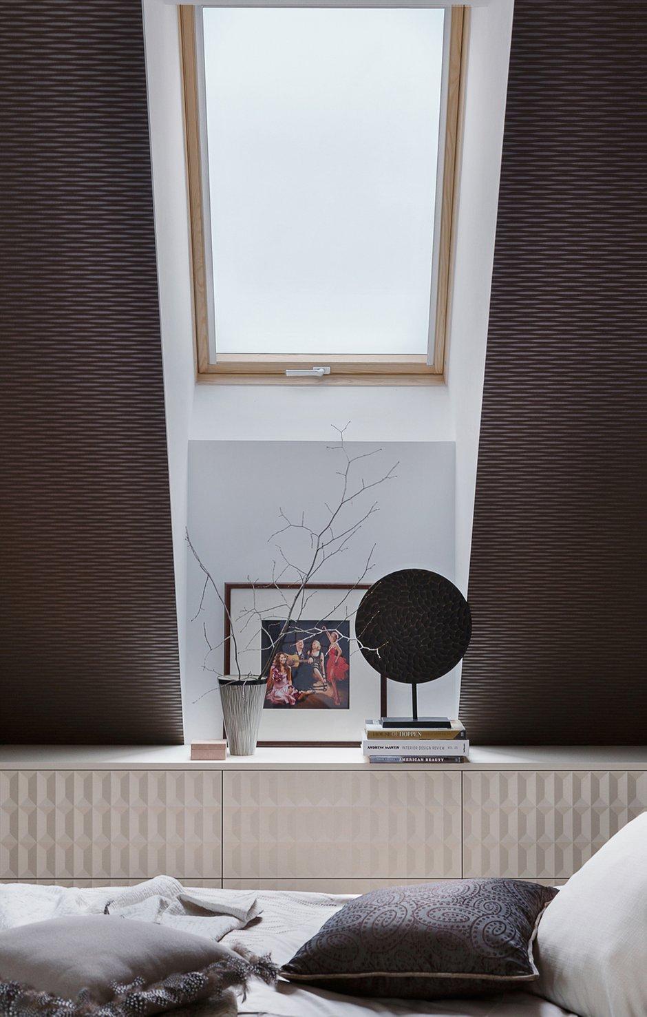 Фотография: Спальня в стиле Современный, Эклектика, Квартира, Проект недели, Пермь, Монолитный дом, 3 комнаты, Более 90 метров, Nolte, Nolte Küchen, Nolte Kuchen, Надя Гордеева – фото на INMYROOM