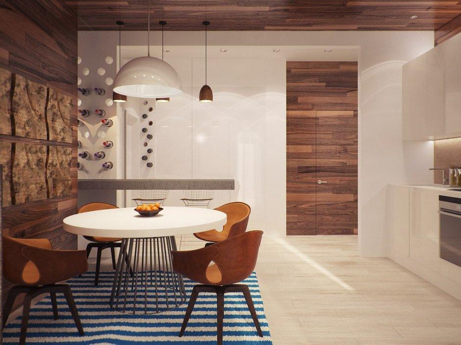 Фотография: Кухня и столовая в стиле Лофт, Современный, Декор интерьера, Квартира, BoConcept, Дома и квартиры, Проект недели – фото на InMyRoom.ru