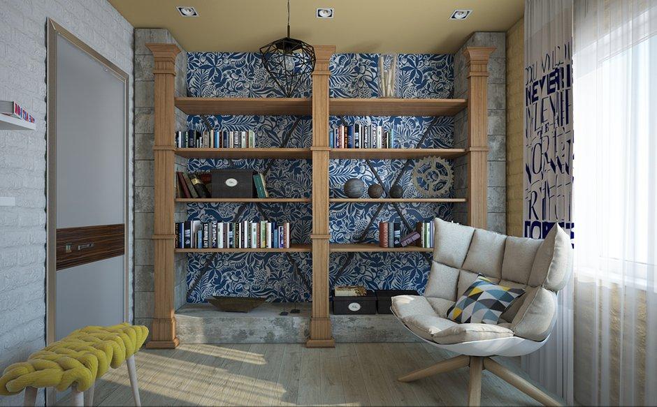 Фотография: Спальня в стиле Лофт, Скандинавский, Современный, Квартира, Дома и квартиры – фото на INMYROOM