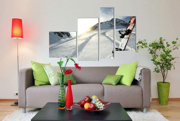 Фотография: Гостиная в стиле Современный, Декор интерьера, Дом, Декор дома, Стены, Постеры – фото на INMYROOM