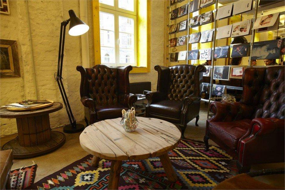 Фотография: Гостиная в стиле , Дома и квартиры, Городские места, Отель, Проект недели, Хостел – фото на InMyRoom.ru