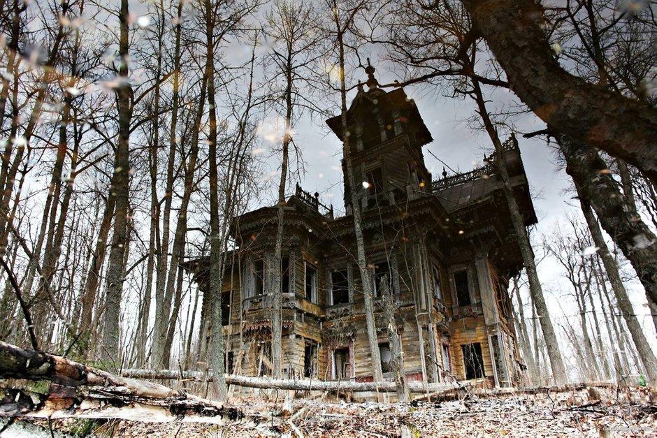 Лесной терем Мартьяна Сазонова до реставрации