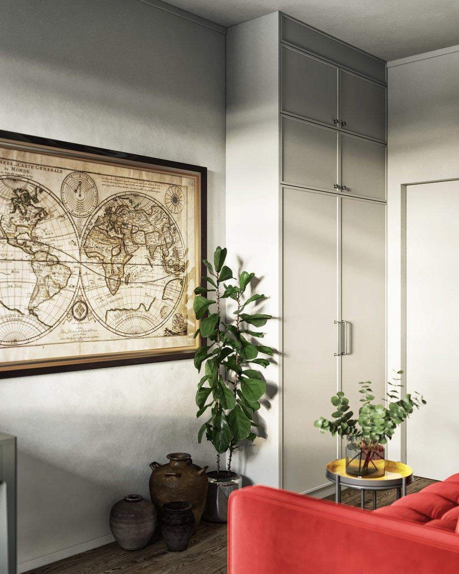 Фотография: Кабинет в стиле Современный, Эклектика, Квартира, Проект недели, Санкт-Петербург, ToTaste, 3 комнаты, Более 90 метров – фото на INMYROOM