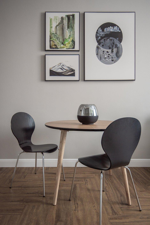 Фотография: Кухня и столовая в стиле Современный, Квартира, Проект недели, 3 комнаты, 60-90 метров, Тюмень, Александра Хасанова – фото на INMYROOM