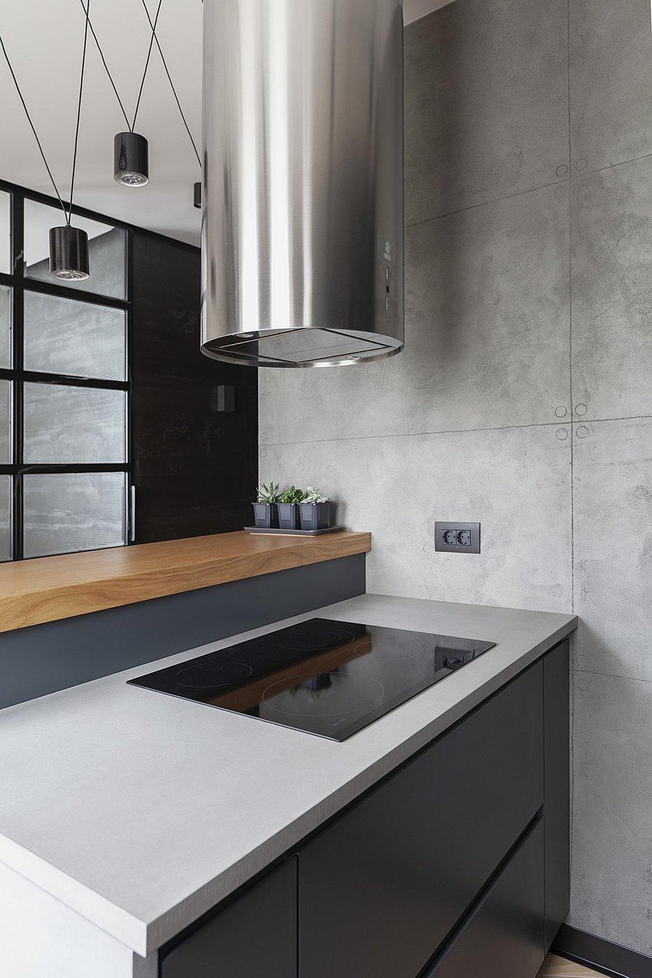 Фотография: Кухня и столовая в стиле Современный, Лофт, Студия, Проект недели, Мария Полянская – фото на INMYROOM