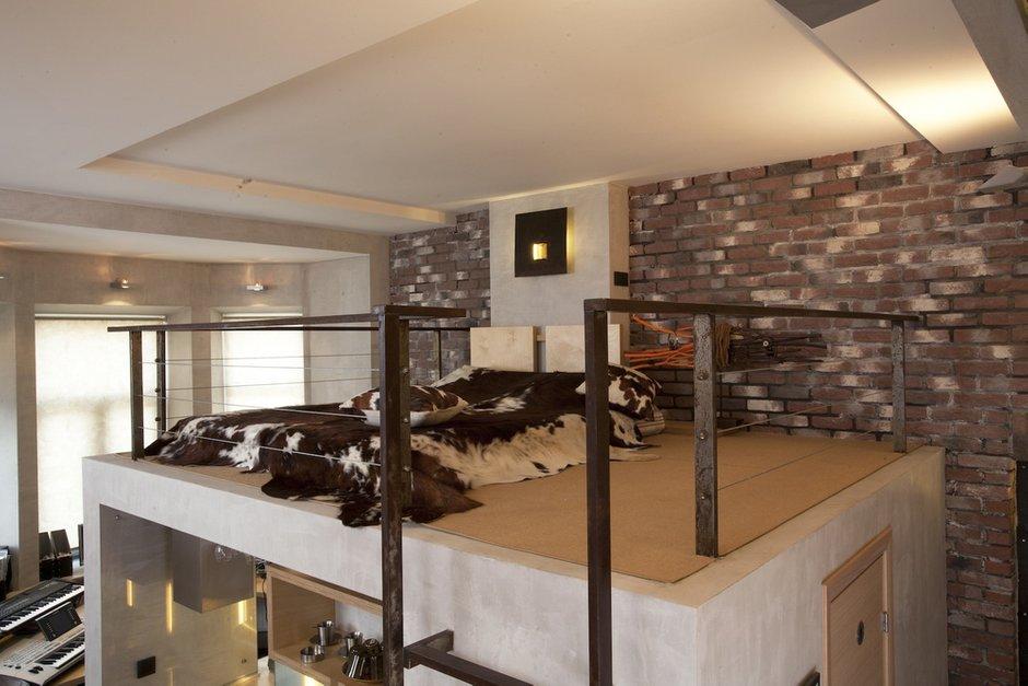 Фотография: Спальня в стиле Лофт, Квартира, Дома и квартиры – фото на INMYROOM