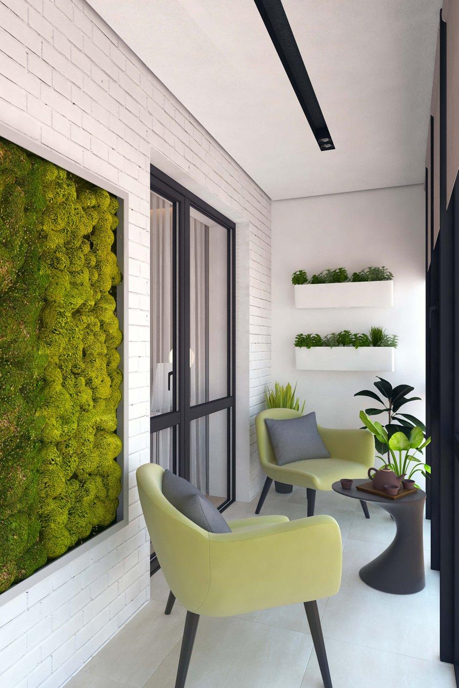 Фотография: Балкон в стиле Эко, Квартира, Проект недели, Geometrium – фото на INMYROOM