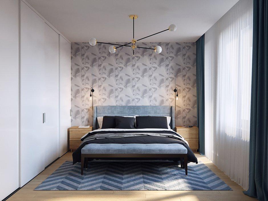 Фотография: Спальня в стиле Современный, Квартира, Проект недели, Санкт-Петербург, Никита Зуб, Монолитный дом, ЖК «Московские ворота» – фото на INMYROOM