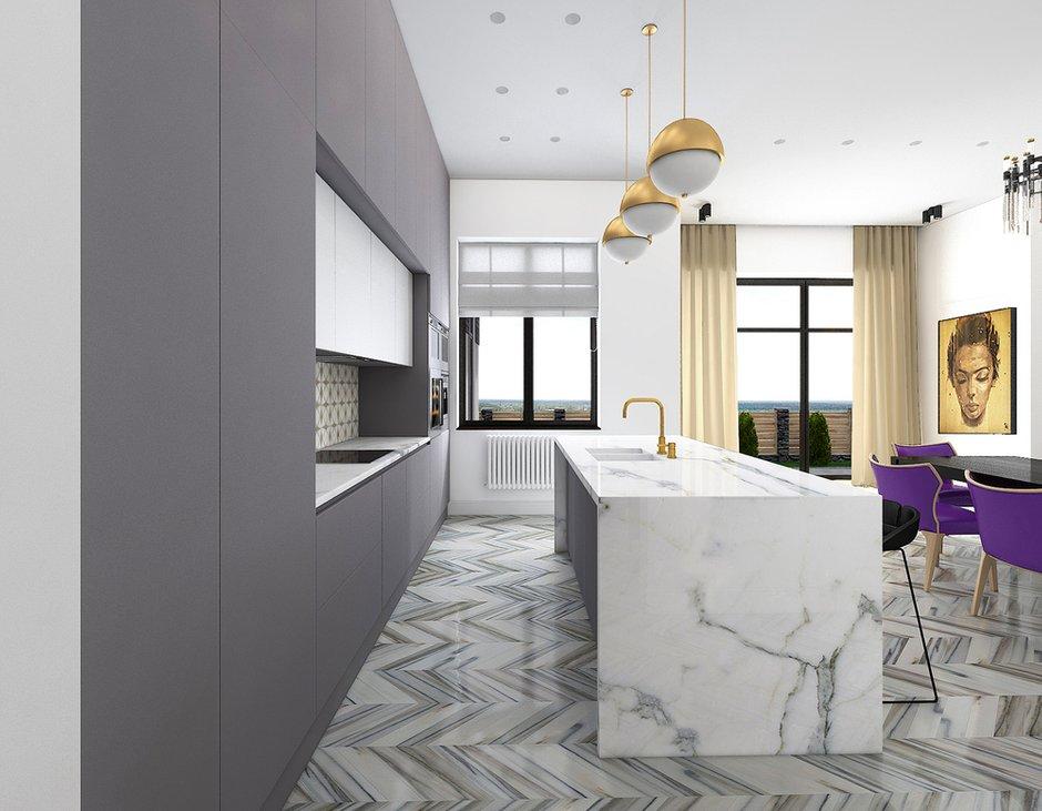 Фотография: Кухня и столовая в стиле Эклектика, Дом, Минимализм, Проект недели – фото на INMYROOM
