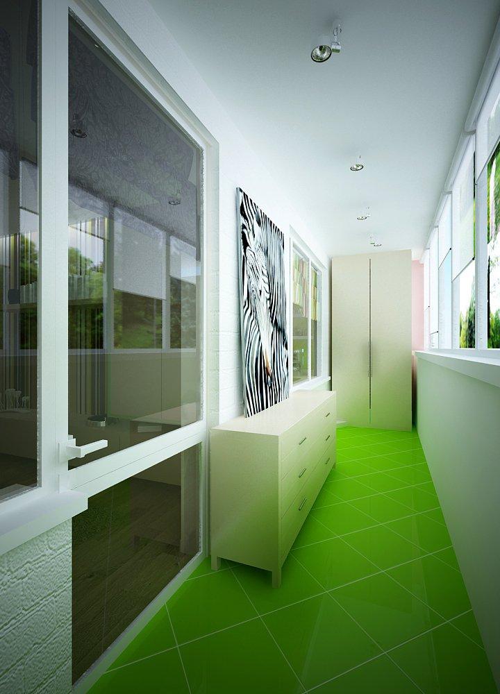Фотография: Балкон, Терраса в стиле Современный, Малогабаритная квартира, Квартира, Дома и квартиры, Проект недели, Москва – фото на INMYROOM