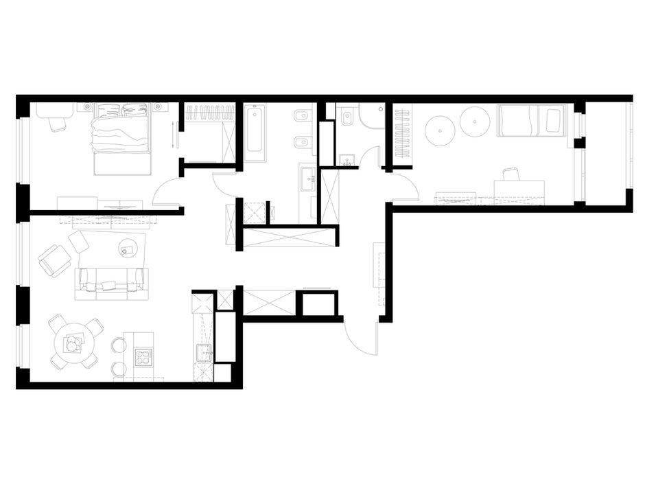 Фотография: Планировки в стиле , Квартира, Россия, Проект недели, Балашиха – фото на INMYROOM