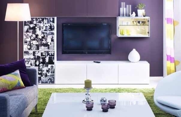 Фотография: Гостиная в стиле Современный, Декор интерьера, Декор дома, Цвет в интерьере, IKEA, Зеленый, Желтый – фото на INMYROOM
