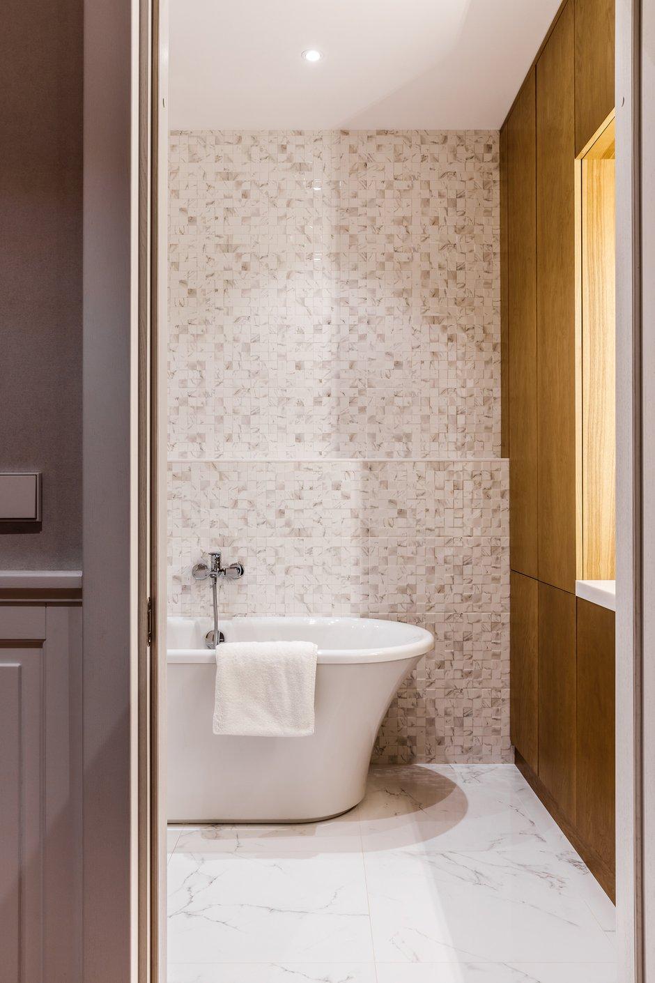 Фотография: Ванная в стиле Современный, Эко, Квартира, Проект недели, Москва, Архитектурная студия «ЧАДО», 4 и больше, Более 90 метров – фото на INMYROOM