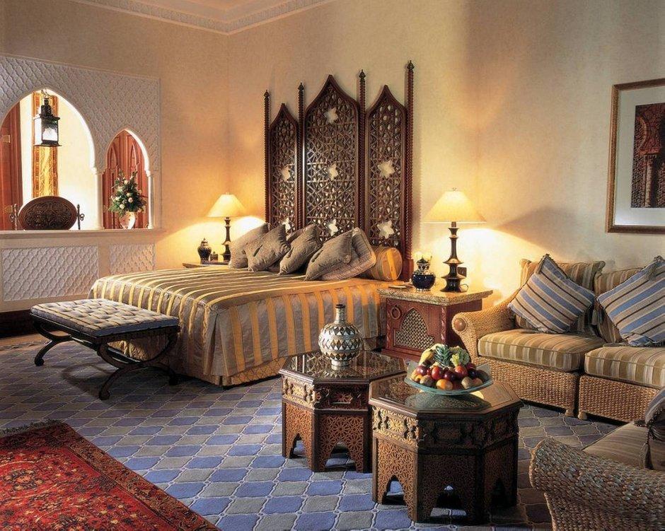 Фотография: Спальня в стиле Восточный, Декор интерьера, Советы – фото на InMyRoom.ru