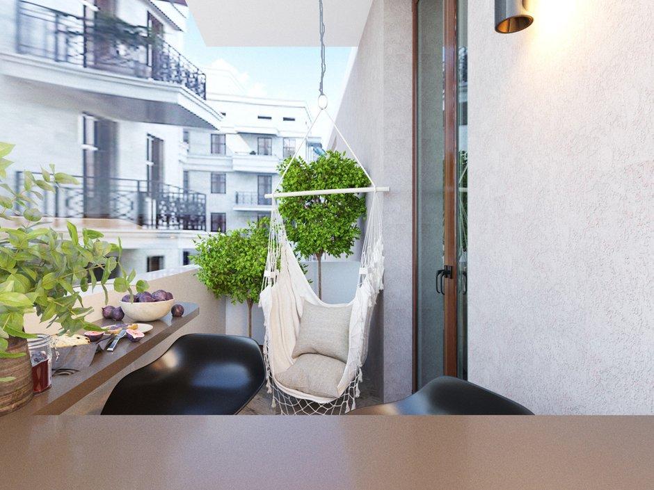 Фотография: Балкон в стиле Современный, Квартира, Проект недели, Artek Design Studio, Казахстан, 4 и больше, Более 90 метров, Алматы – фото на INMYROOM
