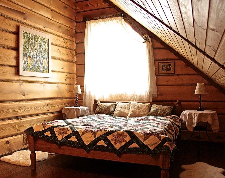 Фотография: Спальня в стиле , Дом, Дома и квартиры, Дача – фото на INMYROOM