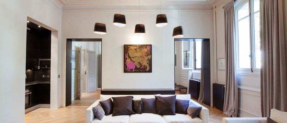 Фотография: Гостиная в стиле Современный, Квартира, Дома и квартиры, Париж – фото на INMYROOM