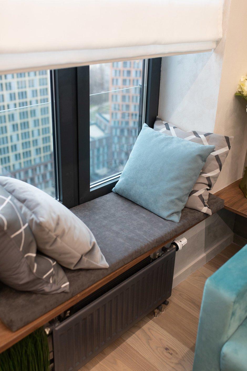 Фотография: Спальня в стиле Современный, Квартира, Проект недели, Москва, 2 комнаты, 40-60 метров, Deus of House – фото на INMYROOM