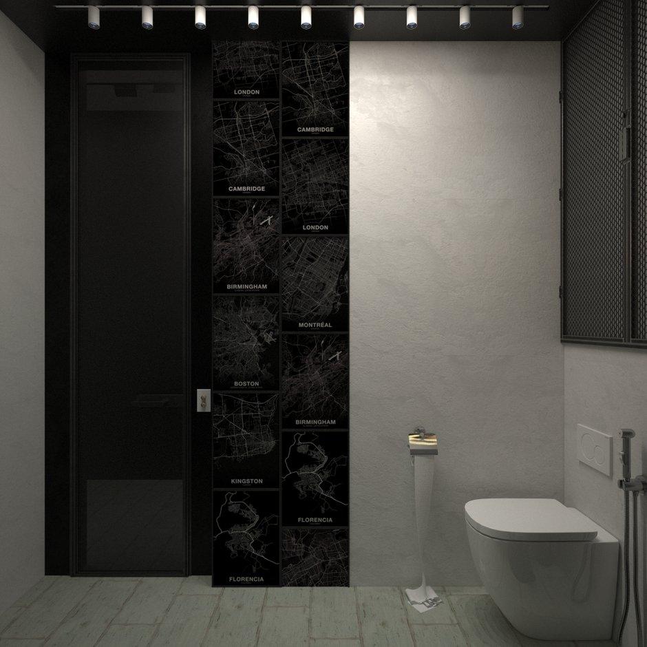 Фотография: Ванная в стиле Скандинавский, Квартира, Проект недели, Блочный дом, 2 комнаты, 40-60 метров, Юлия Штыкина, Ла Корунья – фото на INMYROOM