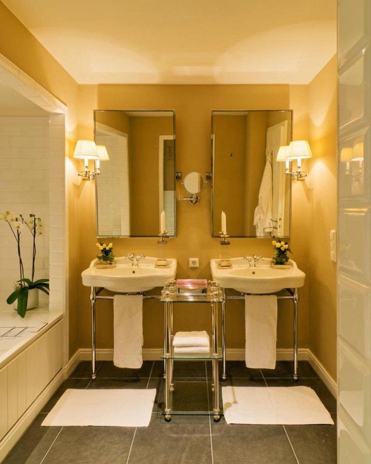 Фотография: Ванная в стиле Современный, Дома и квартиры, Городские места, Отель, Проект недели, Замок – фото на INMYROOM