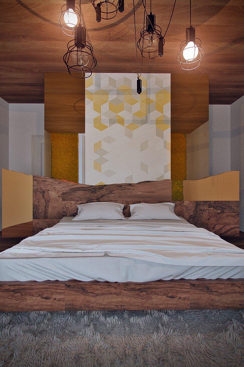 Фотография: Спальня в стиле Лофт, Эклектика, Дом, Минимализм, Проект недели, Эко – фото на INMYROOM