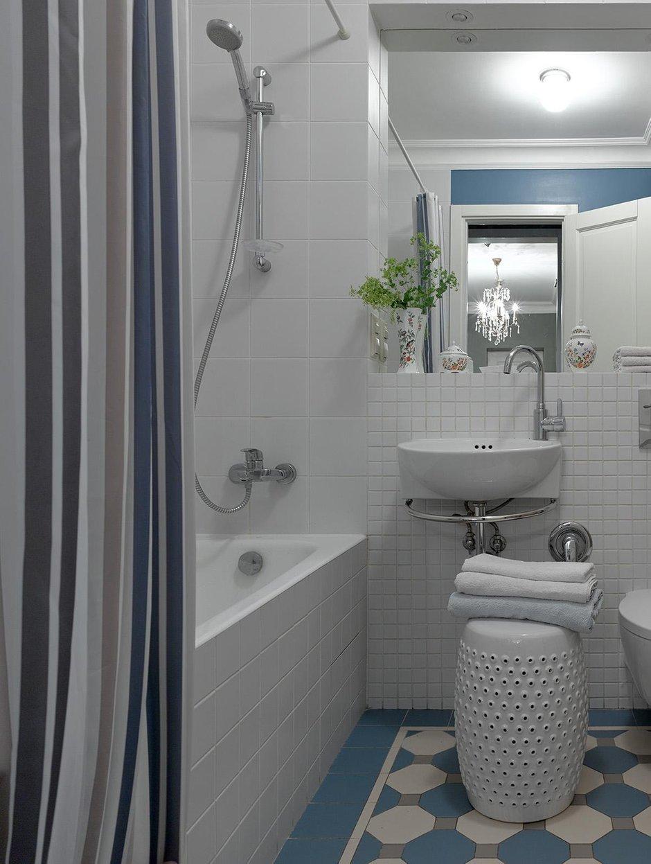 Фотография: Ванная в стиле Прованс и Кантри, Проект недели, Москва, Сталинка, 3 комнаты, 60-90 метров, Инна Зольтманн – фото на INMYROOM