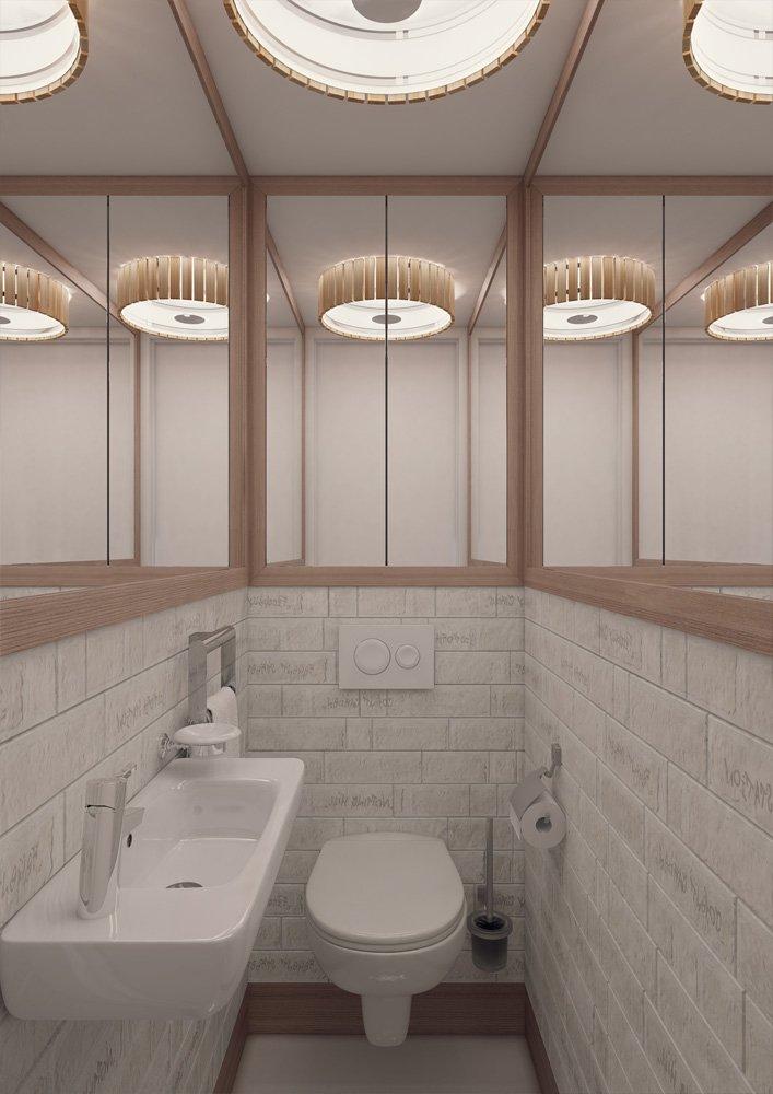 Фотография: Ванная в стиле Лофт, Квартира, BoConcept, Дома и квартиры, Проект недели – фото на INMYROOM