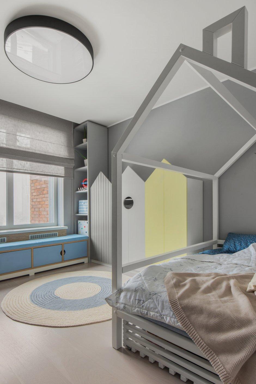 Фотография: Детская в стиле Современный, Квартира, Проект недели, Москва, 3 комнаты, 60-90 метров, Balcon – фото на INMYROOM