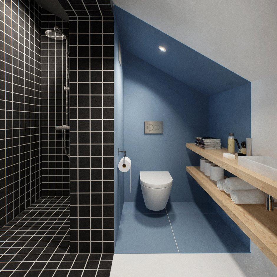 Фотография: Ванная в стиле Лофт, Дом, Дома и квартиры, IKEA, Проект недели – фото на INMYROOM