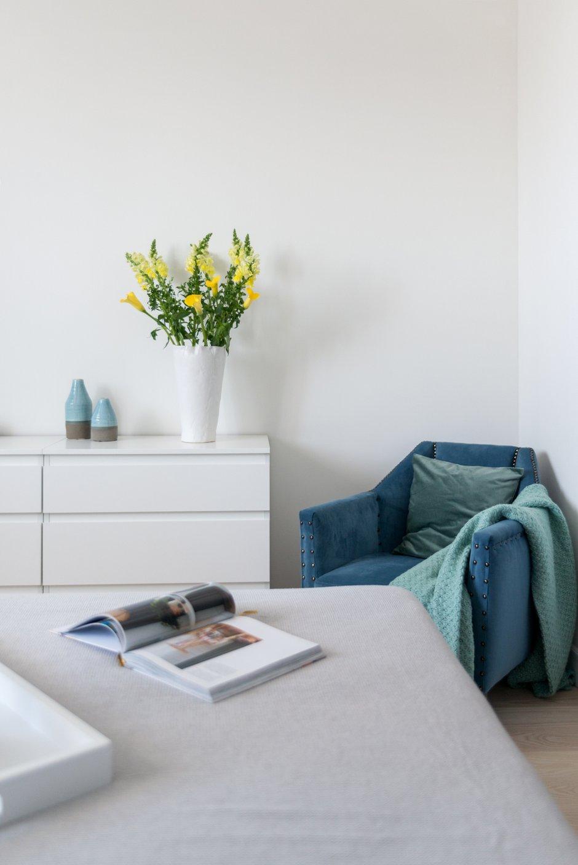 Фотография: Спальня в стиле Современный, Квартира, Проект недели, Марина Саркисян, Долгопрудный, 1 комната, 40-60 метров, ПРЕМИЯ INMYROOM – фото на INMYROOM