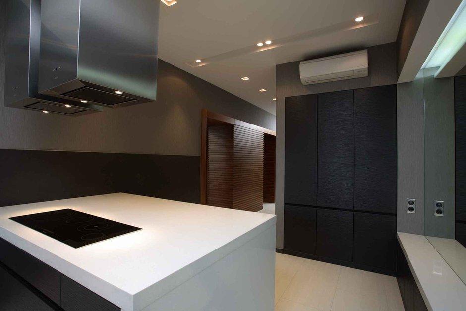 Фотография: Кухня и столовая в стиле Лофт, Современный, Квартира, Дома и квартиры – фото на INMYROOM